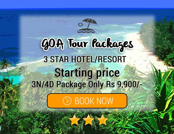3 Star Goa Hotels Packages