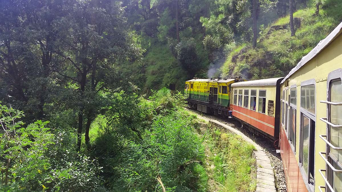 tourist trains in north india