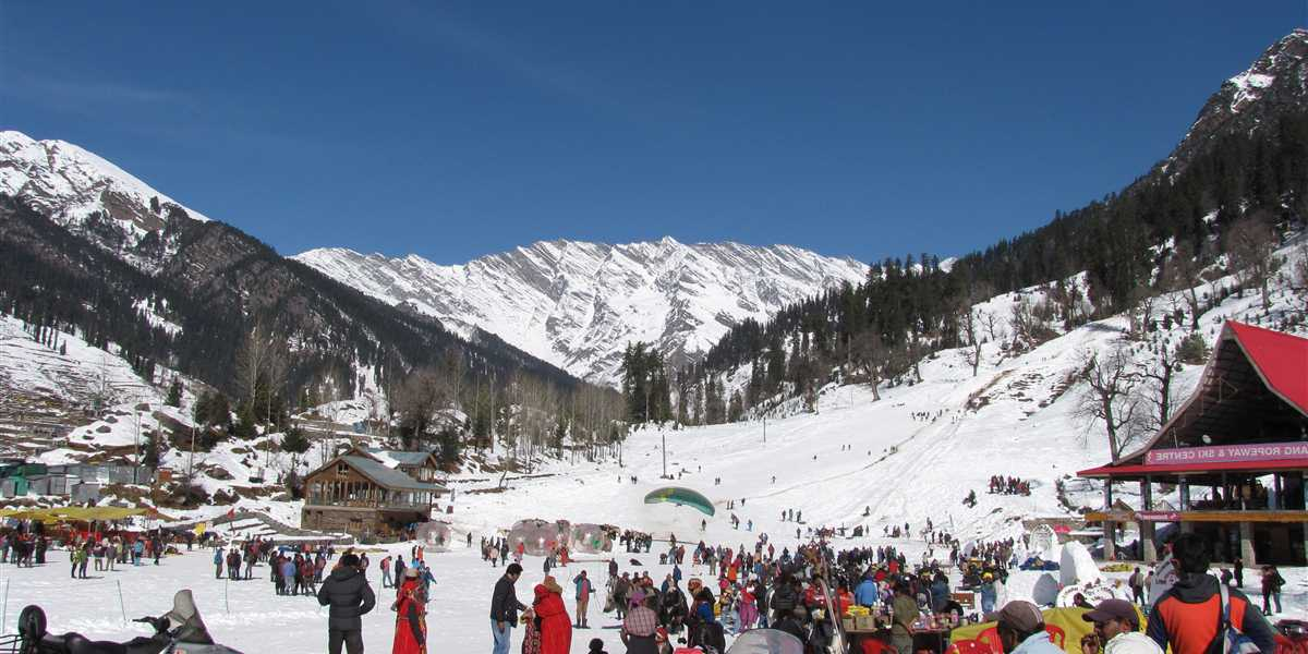 ski resort in north india