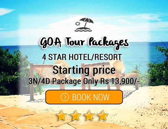 North Goa 4 Star Hotel Packages