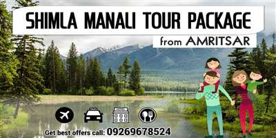 Shimla Manali Tour Package from Amritsar