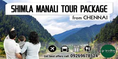 Shimla Manali Tour Package from Chennai