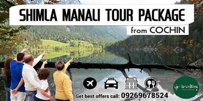 Shimla Manali Tour Package from Kochi