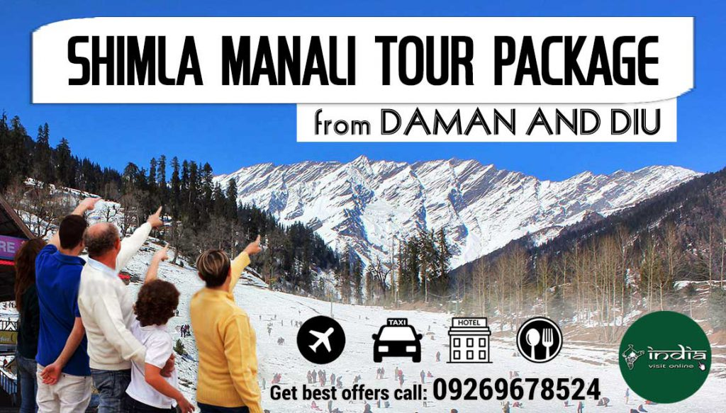 shimla-manali-tour-packages-from-daman-and-diu