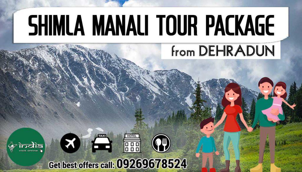 shimla-manali-tour-packages-from-dehradun