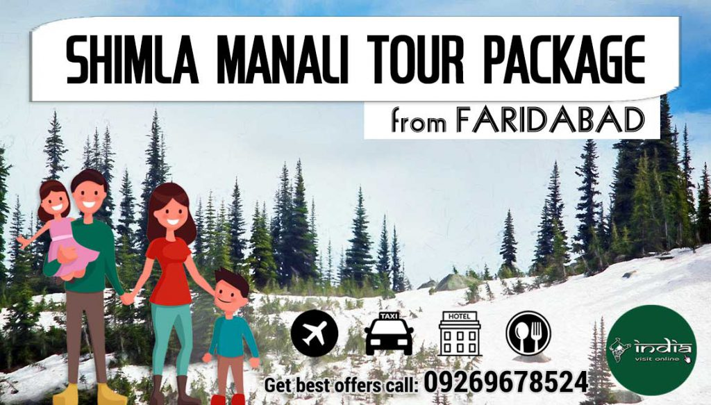 shimla-manali-tour-packages-from-faridabad