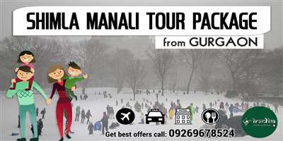 Shimla Manali Tour Package from Gurgaon