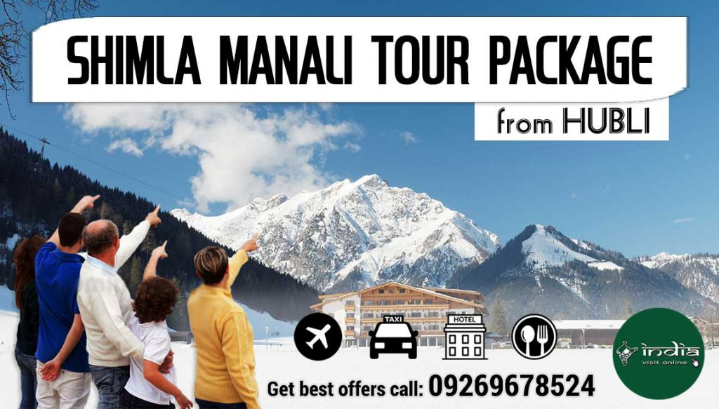 shimla-manali-tour-packages-from-hubli