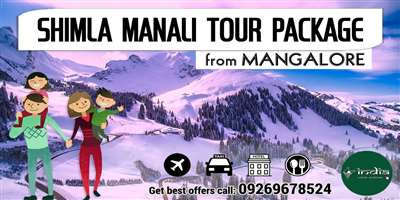 Shimla Manali Tour Package from Mangalore