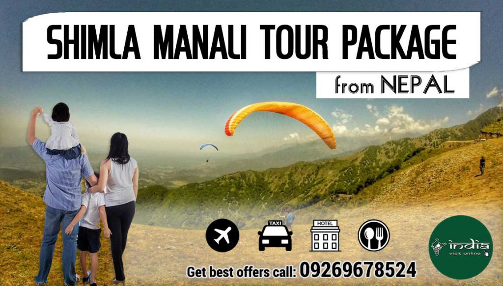Shimla Kullu Manali Tour Package from Nepal