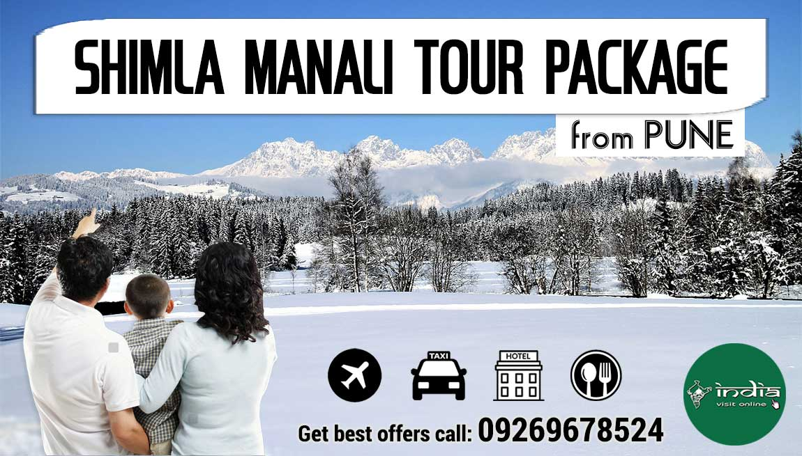 Shimla Manali Tour Package from Pune