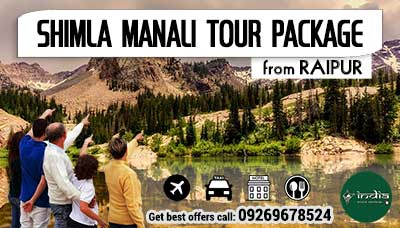 Kullu Manali Tour Package from Raipur
