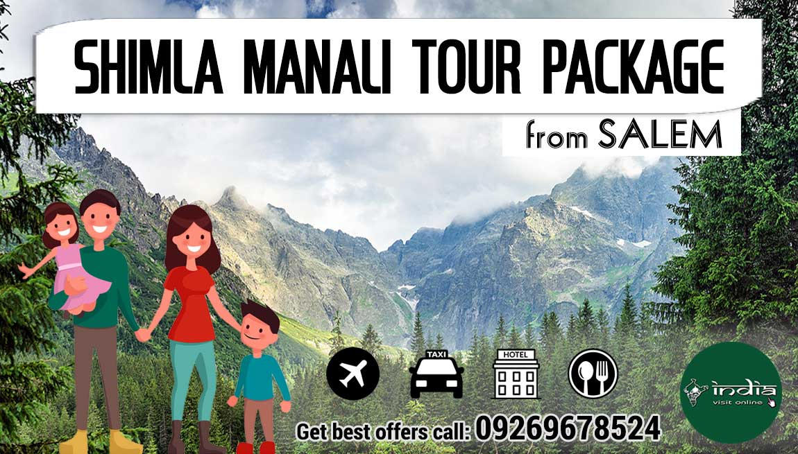 Shimla Manali Tour Package from Salem