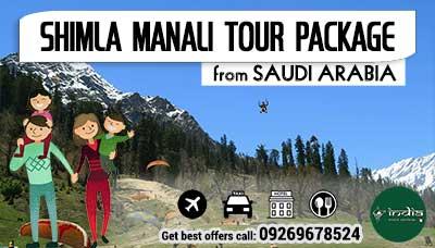 Kullu Manali Tour Package from Saudi Arabia