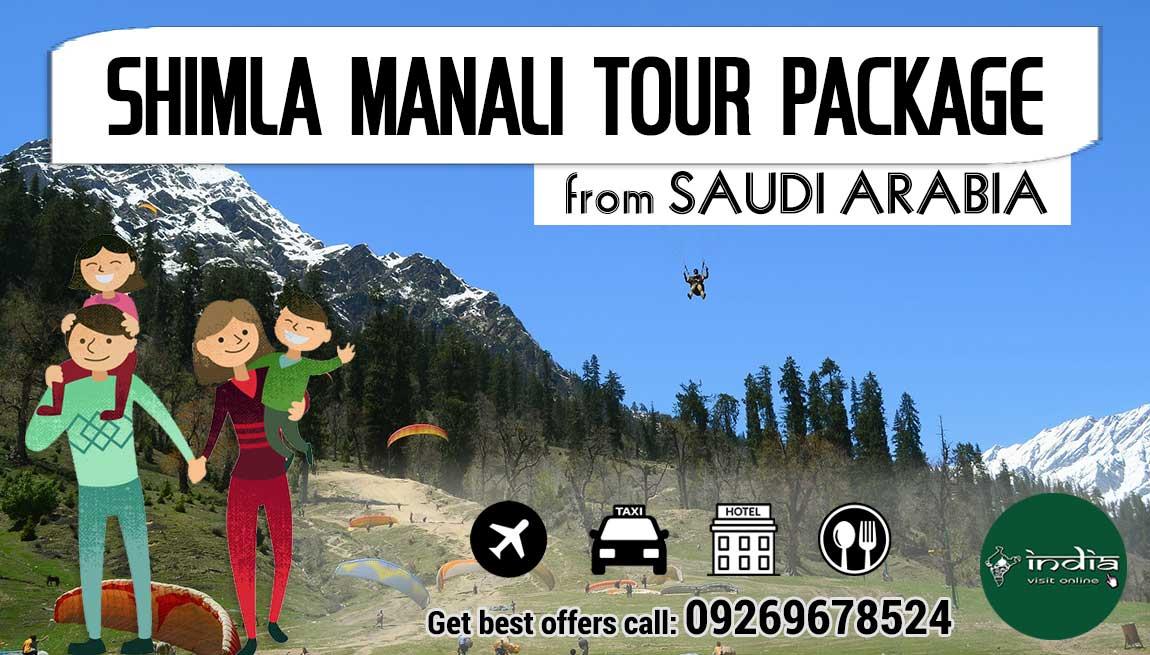 Shimla Manali Tour Package from Saudi Arabia