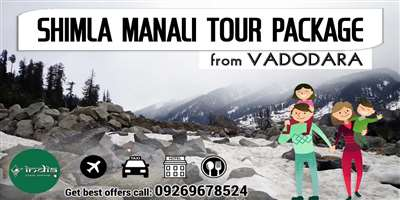 Shimla Manali Tour Package from Vadodara