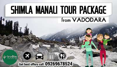 Kullu Manali Tour Package from Vadodara