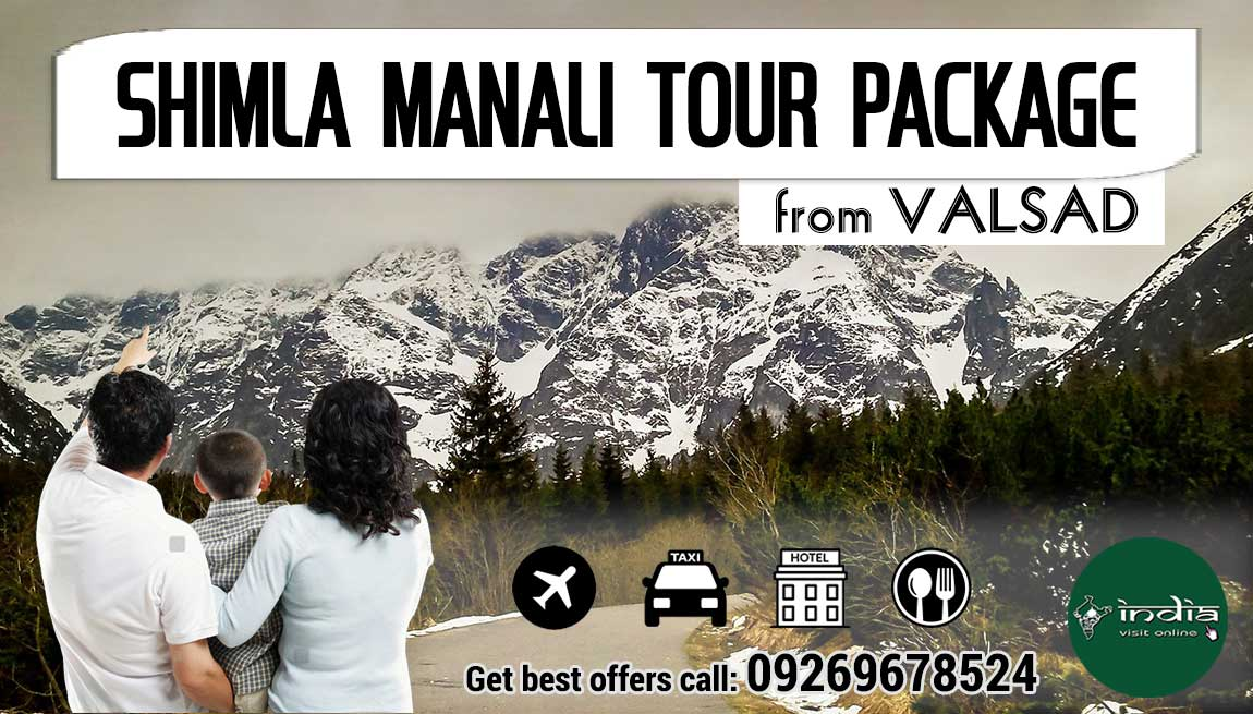 Shimla Manali Tour Package from Valsad