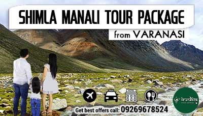 Kullu Manali Tour Package from Varanasi